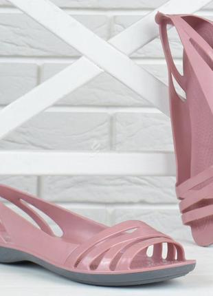 Балетки женские кроксы clogs huarache пудровые облегченные5 фото