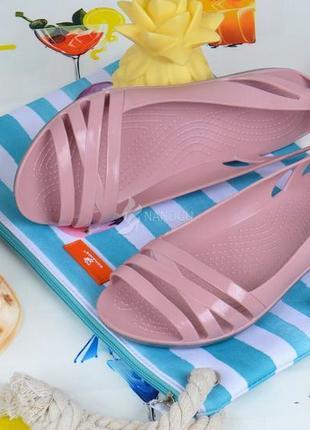 Балетки женские кроксы clogs huarache пудровые облегченные6 фото