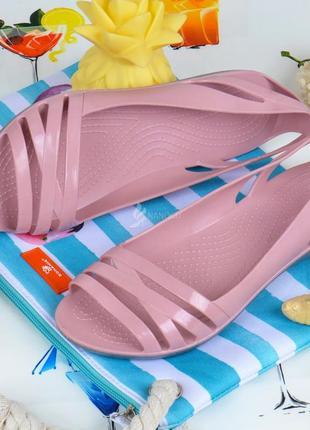 Балетки женские кроксы clogs huarache пудровые облегченные1 фото