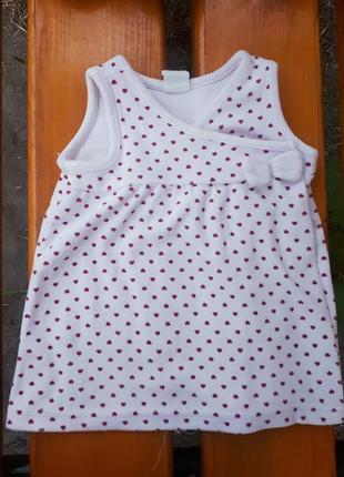 Платье для малышки на запах