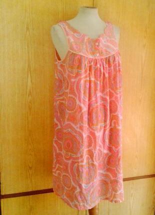 Полупрозрачное домашнее нейлоновое платье, s- l.