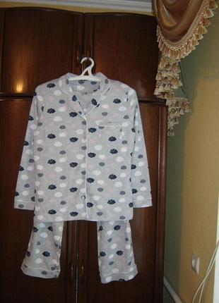 Пижама tu, 100% хлопок, размер 12, новая с этикетками1 фото