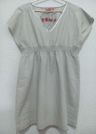 Льняное платье  puma
