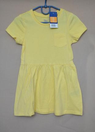 Платье для девочки lupilu размер 98-104