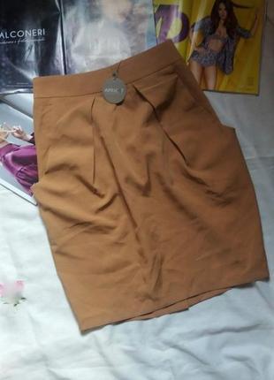 Супер стильная юбочка apricot размер л
