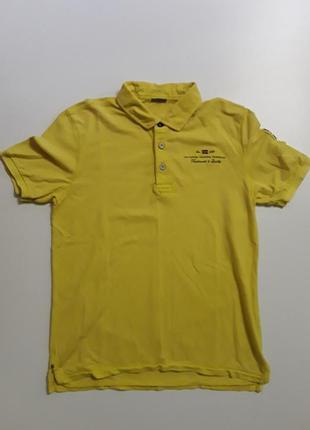 Фирменная тенниска поло футболка m