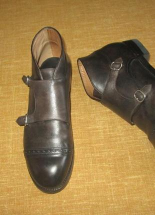 Benci brothers швейцария монки кожаные ботинки church's cheaney