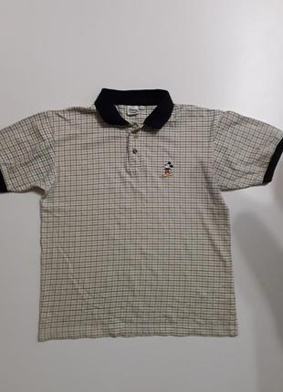 Фирменная тенниска поло футболка s