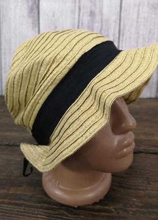 Шляпка соломенная festival fashion