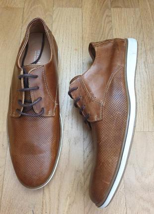 Стильные кожаные туфли minelli