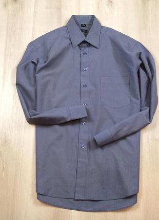 Рубашка paul smith  l мужская пул смич пол л синяя фиолетовая