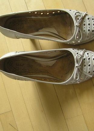 Летние женские кожаные туфли welfare 37 размер