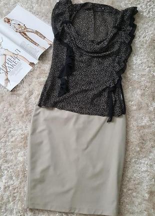 Нюдовая юбка