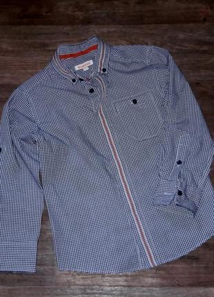 Рубашка приталеная для девочки