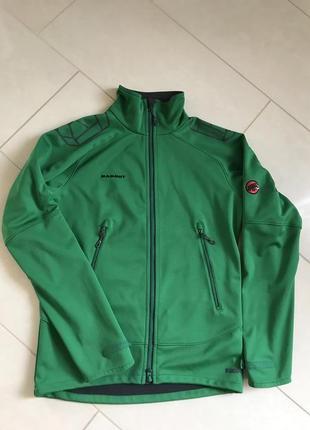 Куртка спортивная стильная дорогой бренд mammut размер м