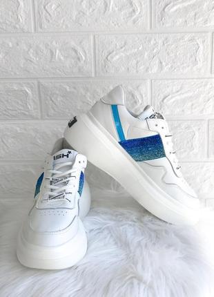 Женские кроссовки с блестками ugly shoes