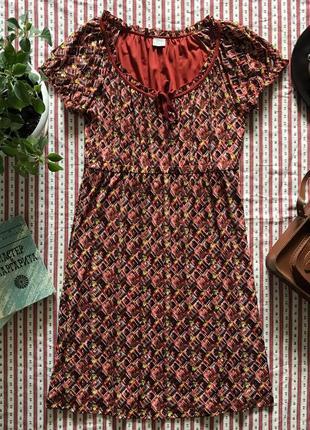 Шикарное платье в стиле ретро винтаж esprit