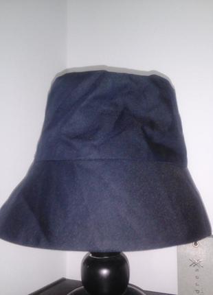 Трендовая панама, панама, чёрная шляпа, шляпа, чёрная панамка