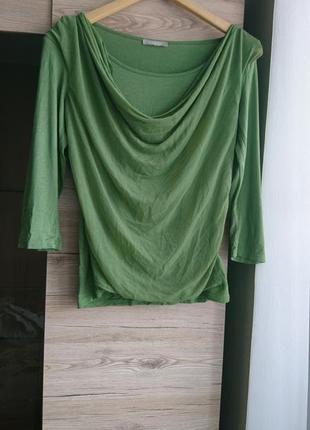 Актуальная кофта оливкового цвета orsay