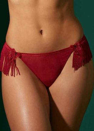 Трусики с бахромой кабаре сексуальное эротическое белье