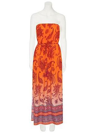 Платье из натуральной ткани с размерами р.20 наш 56