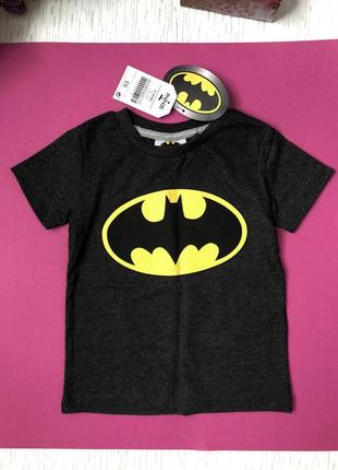 Next футболка на мальчика batman  9-12 мес , большемерка