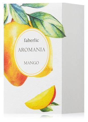 Шок цена! туалетная вода для женщин aromania mango faberlic
