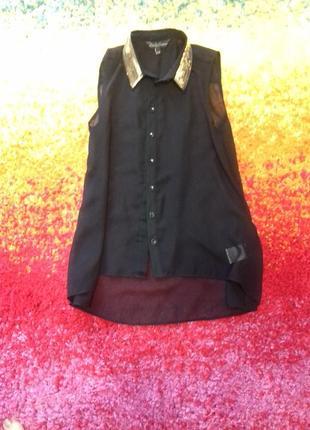 Классная блуза с паетками