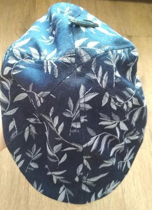 Новая стильная джинсовая кепи со скрытым козырьком от ovs, р. м