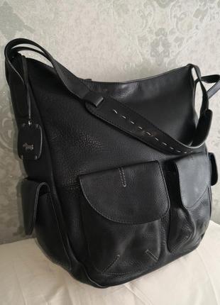Роскошная большая кожаная сумка radley, англия