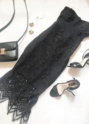 Кружевное платье lipsy р.12
