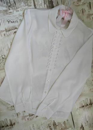 Блуза*офисная*длинный рукав