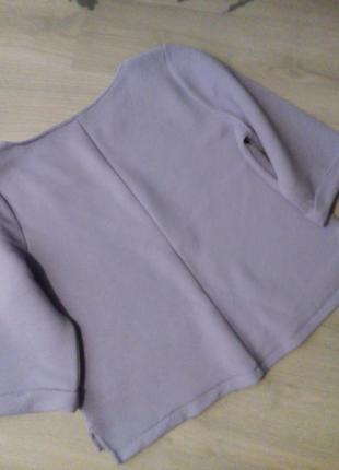 Брендовая блузка оверсайз4 фото