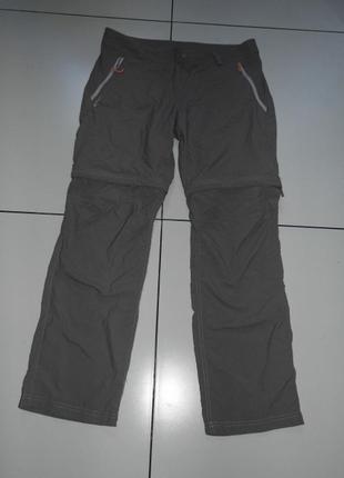 Треккинговые штаны -унисекс -quechua - m - баншладеж - сток!!