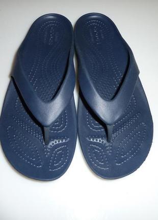 Новые кроксы, вьетнамки crocs, р w 7 стелька 25 см (вся длина)