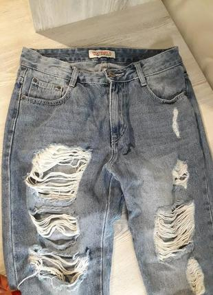 Фірмові джинси мом