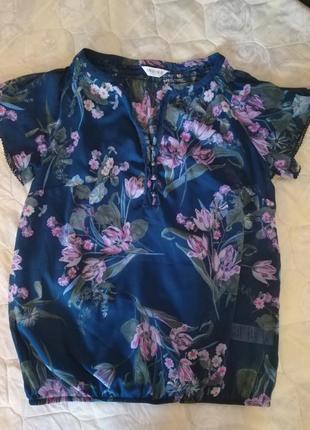 Оригинальная стильная блуза indigo m&s