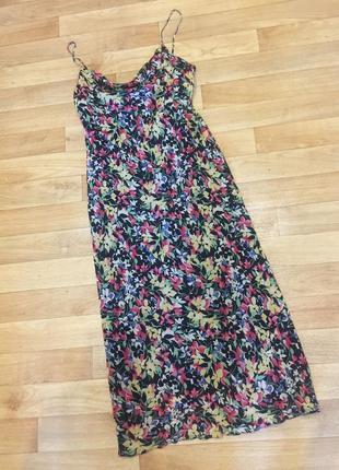 Платье сарафан шелк 100% ralph lauren оригинал!