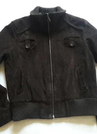 Замшевая куртка от laura di sarpi