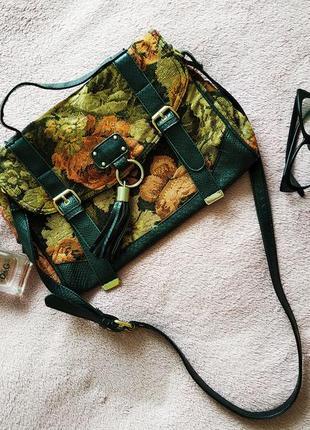 Сумка, сумка с цветочным принтом