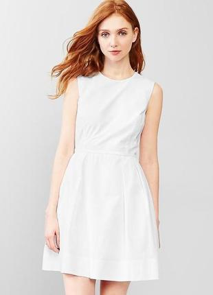 Новое хлопковое платье gap