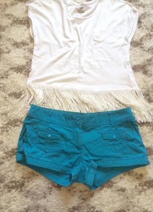 Фирменные яркие шорты h&m,летние короткие шортики