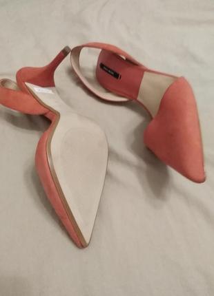 Туфли острый носок zara2 фото