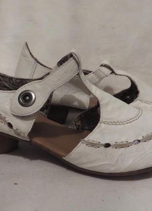 Туфли кожа германия rieker 41,5 размер