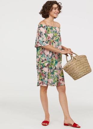 Стильне літнє платтячко h&m