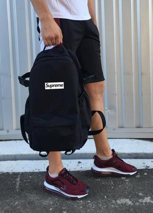 Рюкзак турист черный supreme