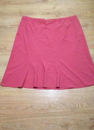 Стильная яркая юбка миди макси/ под блуза /большой размер/ 7-8 xl