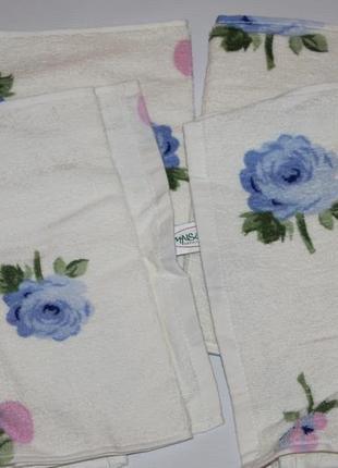 Набор полотенец maisonette турция, 50 на 30 см, 4 шт +1 в подарок