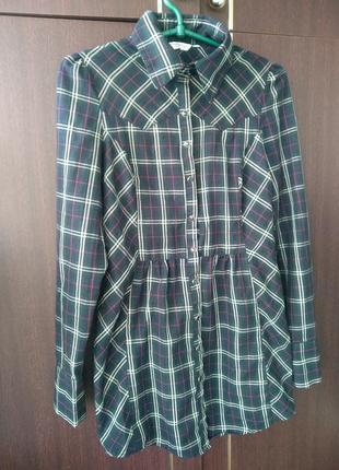 Удлиненная рубашка -платле new look