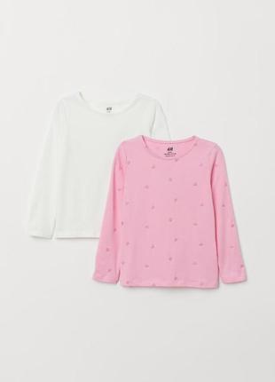 2шт! реглан, кофта, футболка h&m